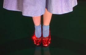 el mago de oz zapatos de rubí